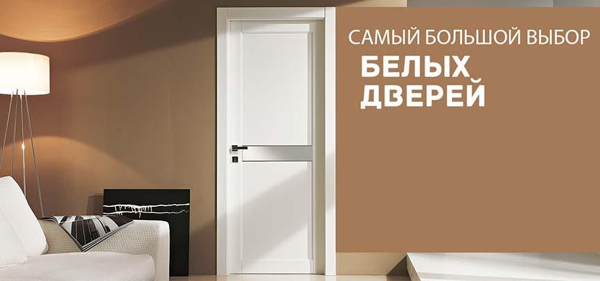 Купить белые двери в Киеве