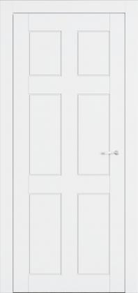 Межкомнатные белые крашенные двери ТМ Омега (Украина) ALLURE АМЕРИКА, Киев. Цена - 5 368 грн