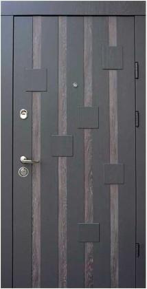 Входные бронированные двери в квартиру Qdoors (Украина) Рондо, Киев. Цена - 15 950 грн