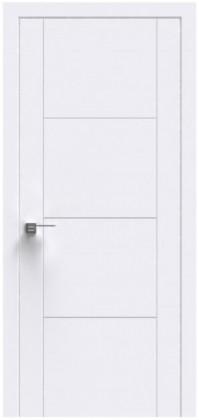 Межкомнатные белые шпонированные крашенные двери Status (Украина) Ultra U-004, Киев. Цена - 6 850 грн
