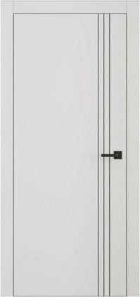 Межкомнатные скрытые невидимые тайные крашенные двери без наличника скрытые с зеркалом ТМ Омега (Украина) Lines L7, Киев. Цена - 4 101 грн