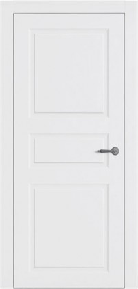 Межкомнатные белые скрытые скрытые тайные крашенные двери без наличника скрытые с отделкой скрытые с зеркалом ТМ Омега (Украина) Ницца ПГ, Киев. Цена - 5 070 грн