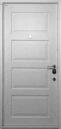 Входные бронированные уличные белые входные двери в квартиру в дом Armada (Украина) Ка59, Киев. Цена - 17 800 грн