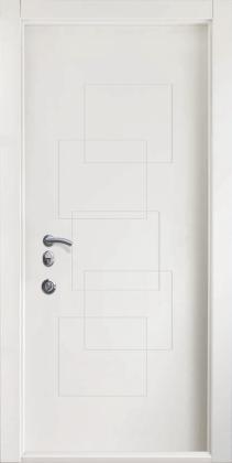 Входные бронированные уличные белые входные двери в квартиру в дом Armada (Украина) Ка24, Киев. Цена - 17 800 грн