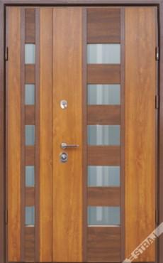 Входные бронированные уличные двери в дом СТРАЖ (Украина) модель Стрим Double, Киев. Цена - 27 680 грн