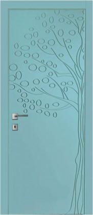 Межкомнатные деревянные ламинированные двери Azora Doors (Украина) Міжкімнатні двері Авангард FL8, Киев. Цена - 7 163 грн