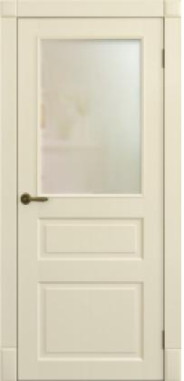 Межкомнатные белые скрытые тайные крашенные двери без наличника скрытые с зеркалом ТМ Омега (Украина) Лондон ПО, Киев. Цена - 5 150 грн