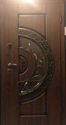 Входные уличные двери Стилгард (Steelguard) модель Optima Glass, Киев. Цена - 11 700 грн