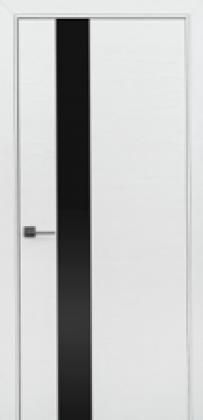 Межкомнатные белые шпонированные двери Status (Украина) Ultra-Glass White, Киев. Цена - 8 550 грн