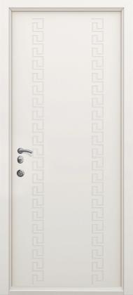 Входные бронированные уличные белые входные двери в квартиру в дом Armada (Украина) Ка10, Киев. Цена - 17 800 грн