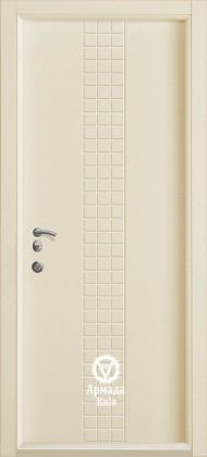 Входные бронированные уличные белые входные двери в квартиру в дом Armada (Украина) Ка11, Киев. Цена - 17 800 грн