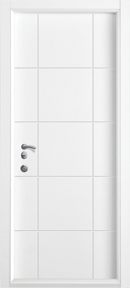Входные бронированные уличные белые входные двери в квартиру в дом Armada (Украина) Ка14 white, Киев. Цена - 17 800 грн