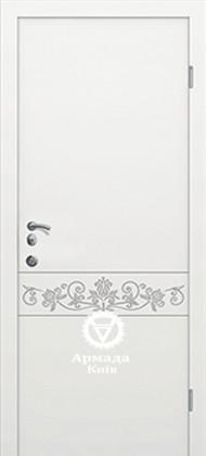 Входные бронированные уличные белые входные двери в квартиру в дом Armada (Украина) Ка150, Киев. Цена - 17 800 грн