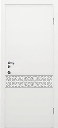 Входные бронированные уличные белые входные двери в квартиру в дом Armada (Украина) Ка151, Киев. Цена - 17 800 грн