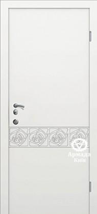 Входные бронированные уличные белые входные двери в квартиру в дом Armada (Украина) Ка152, Киев. Цена - 17 800 грн