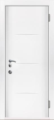 Входные бронированные уличные белые входные двери в квартиру в дом Armada (Украина) Ка27, Киев. Цена - 17 800 грн