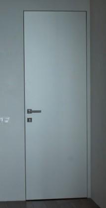 Межкомнатные деревянные скрытые скрытые крашенные двери грунтованные скрытые под покраску скрытые с отделкой скрытые с зеркалом скрытые со стеклом из массива РОСТОК (Украина) MD-35, Киев. Цена - 22 000 грн
