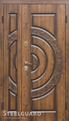 Входные уличные двери Стилгард (Steelguard) модель Optima Big, Киев. Цена - 14 150 грн