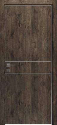 Межкомнатные деревянные ламинированные двери ТМ Родос (Украина) Межкомнатная дверь Modern Flat-01, Киев. Цена - 7 599 грн