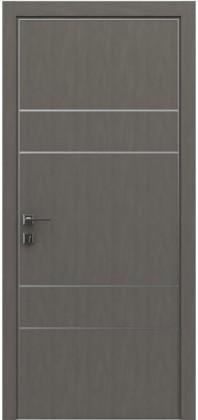 Межкомнатные деревянные ламинированные двери ТМ Родос (Украина) Межкомнатная дверь Modern Flat-04, Киев. Цена - 7 599 грн