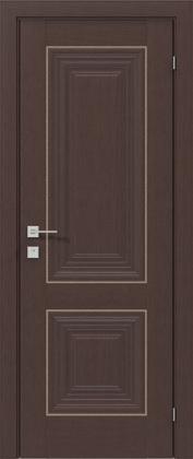 Межкомнатные деревянные ламинированные двери ТМ Родос (Украина) Межкомнатная дверь Versal Esmi, Каштан американский, Киев. Цена - 8 599 грн