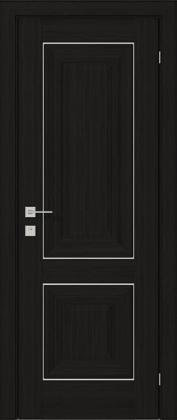 Межкомнатные деревянные ламинированные двери ТМ Родос (Украина) Межкомнатная дверь Versal Esmi, Венге шоколадный, Киев. Цена - 11 499 грн