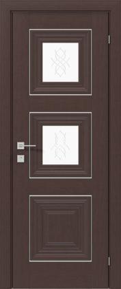 Межкомнатные деревянные ламинированные двери ТМ Родос (Украина) Межкомнатная дверь Versal Irida, Каштан американский, Киев. Цена - 7 999 грн