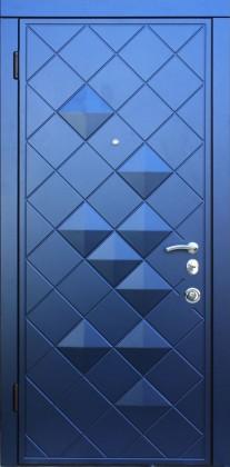 Входные бронированные уличные двери в квартиру в дом Armada (Украина) Ромбы В14.8, Киев. Цена - 17 800 грн