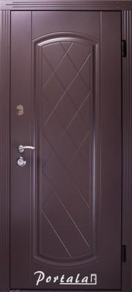 Входные бронированные уличные двери в дом Портала (Украина) Шампань Люкс улица, Киев. Цена - 10 700 грн