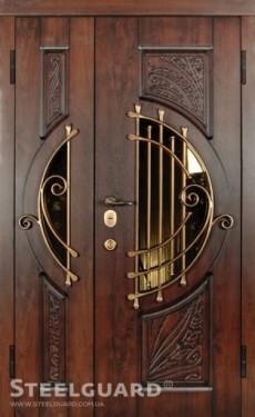 Входные бронированные уличные двери в дом Стилгард (Steelguard) Модель Soprano Big, Киев. Цена - 42 100 грн