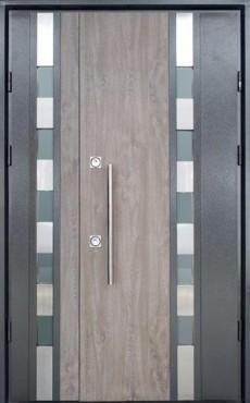 Входные бронированные уличные двери в дом СТРАЖ (Украина) модель Рива P Double SL, Киев. Цена - 27 120 грн
