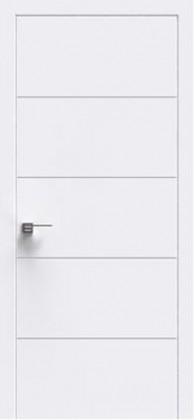 Межкомнатные белые шпонированные крашенные двери Status (Украина) U - 005, Киев. Цена - 6 850 грн