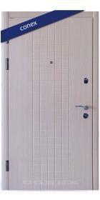 Входная Дверь Conex Модель 10. МДФ. Дуб молочный - Город Дверей
