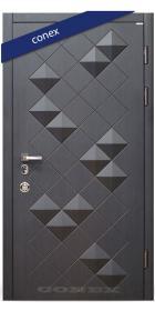 Входная Дверь Conex Модель 47. МДФ. Дерево венге - Город Дверей