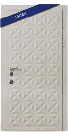 Входная Дверь Conex Модель 50. МДФ. Светлый серый - Город Дверей