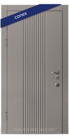 Входная Дверь Conex Модель 61. МДФ. Элегантный серый - Город Дверей