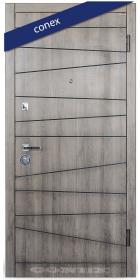 Входная Дверь Conex Модель 74. МДФ Дуб орион тёмный - Город Дверей