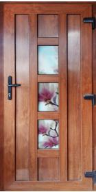 Металлопластиковые двери с печатью на стекле 1950х900