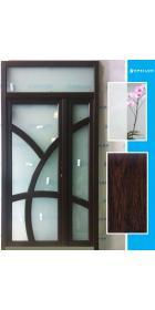 Металлопластиковые входные двери 2500х1300