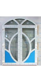 Двустворчатые металлопластиковые входные двери 2450х1800