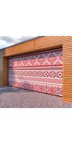 Ворота гаражные секционные 3300 (пружины растяжения)