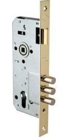Дверной замок KALE 152/3MR 45/85 золото (40-0004131)