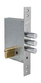 Дверной замок KALE 257 60 мм., хром (40-0004151)