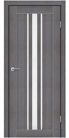 Межкомнатные двери Stil Doors Arizona сатин или черное стекло (дрим вуд)