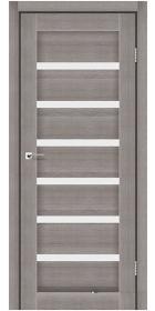Межкомнатные двери Stil Doors Florida сатин или черное стекло (трюфель)