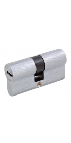 Дверной цилиндр Securemme К2 5кл +1 монтажный ключ матовый хром ключ, ключ