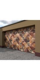 Ворота гаражные секционные 2800 (торсионно-пружинный механизм)