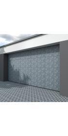 Ворота гаражные секционные 4000 (торсионно-пружинный механизм)