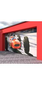 Ворота гаражные секционные 4500 (торсионно-пружинный механизм)