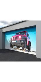 Ворота гаражные секционные 5000 (торсионно-пружинный механизм)